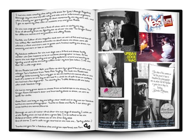 Urban Edge Magazine Yes! Lifestyle Magazine
