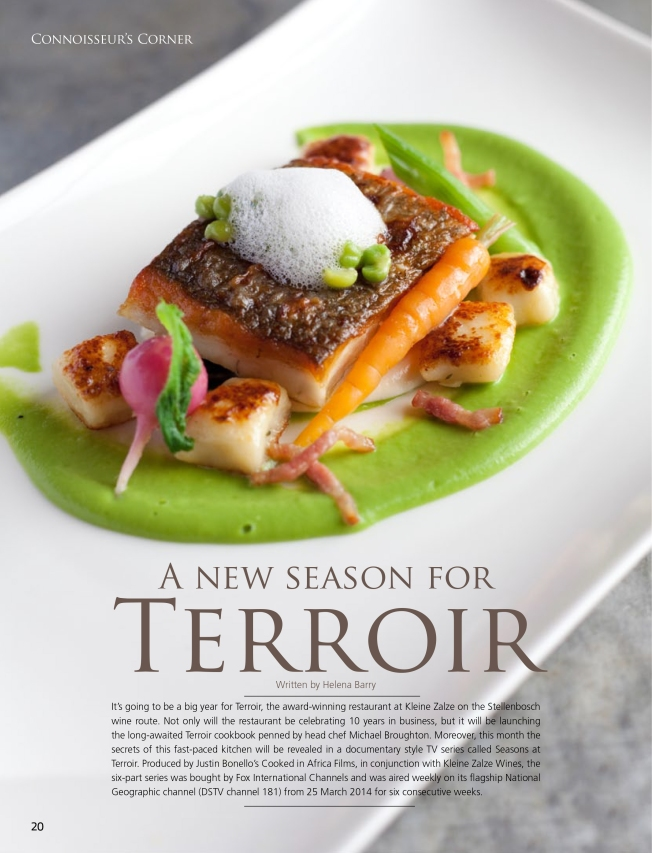 Culinary Artist Magazine - Terroir